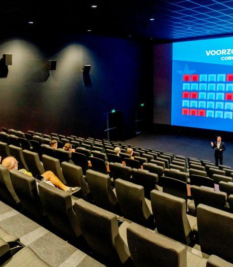 Ook bioscopen en musea weer open: 'Heeft u onlangs last gehad van gezondheidsklachten?'