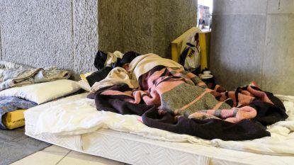Nachtopvang voor 250 daklozen in Brussels hotel