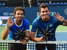 Rojer en Tecau voor de derde keer naar ATP Finals