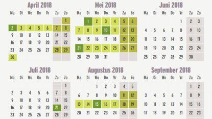 Verdubbel je verlof: 63 vrije dagen voor de prijs van 29 vakantiedagen