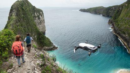 Drone kan zelf hindernis ontwijken