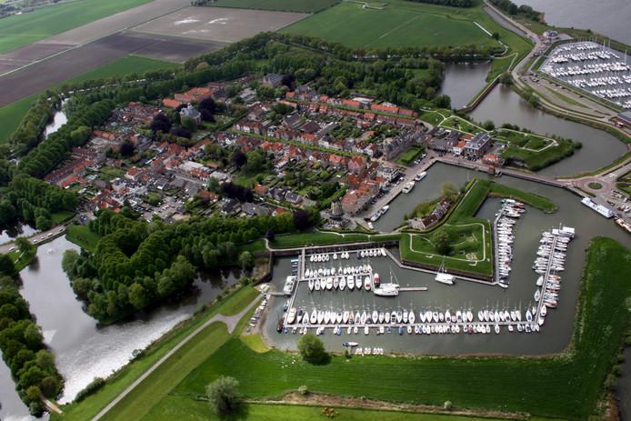 De gemeentelijke jachthaven van Willemstad.