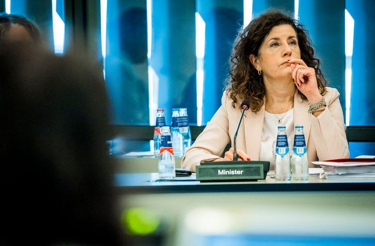 Minister Ingrid van Engelshoven van Onderwijs, Cultuur en Wetenschap. Beeld Hollandse Hoogte/ANP