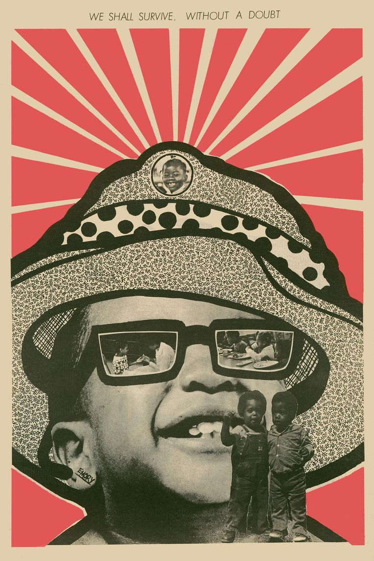 We Shall Survive without a doubt (1971) van Emory Douglas. Beeld Foto: Emory Douglas / Art Resource, NY