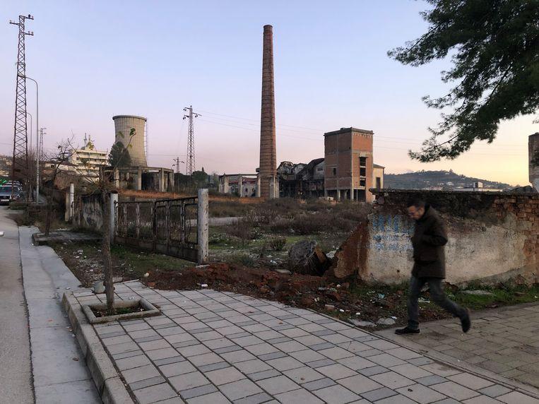 Vergane glorie: de elektriciteitscentrale van Kucova. Beeld Thijs Kettenis