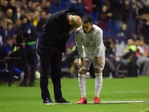 Eden Hazard sort sur blessure contre Levante: l'inquiétude est grande