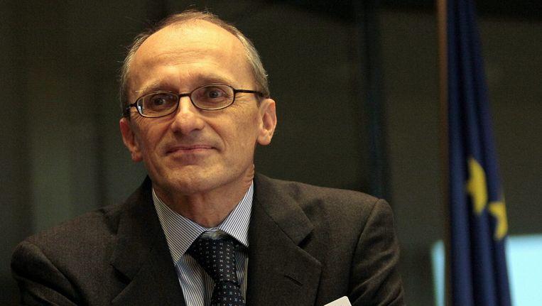 Andrea Enria, voorzitter van de European Banking Authority. Beeld EPA