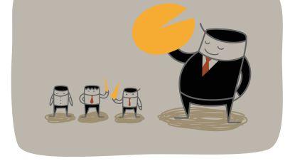 Beurs beleeft slechtste week sinds financiële crisis: kleine beleggers rapen op wat grote laten vallen