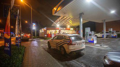 Gewapende overval op Shop'n Go van tankstation langs Ninoofsesteenweg