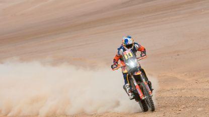 Sunderland ritwinnaar bij de motoren in Dakar, Brabec blijft leider