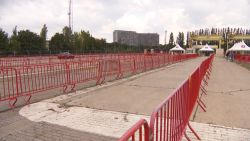 Tot 4.000 coronatests per dag: grootste testdorp van het land in opbouw in Antwerpen