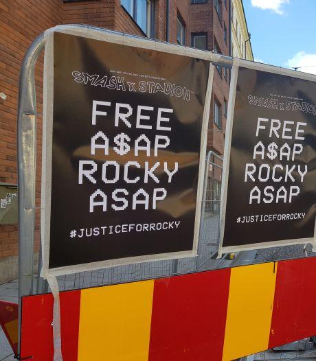 Une fan d'ASAP Rocky arrêtée après avoir menacé de faire exploser l'ambassade de Suède