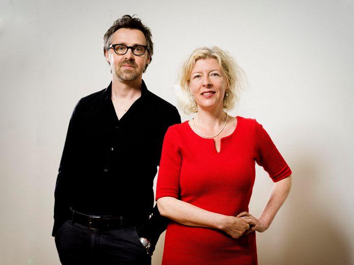 Menno Visser en Julia von Graevenitz van Studio Noodzaak.