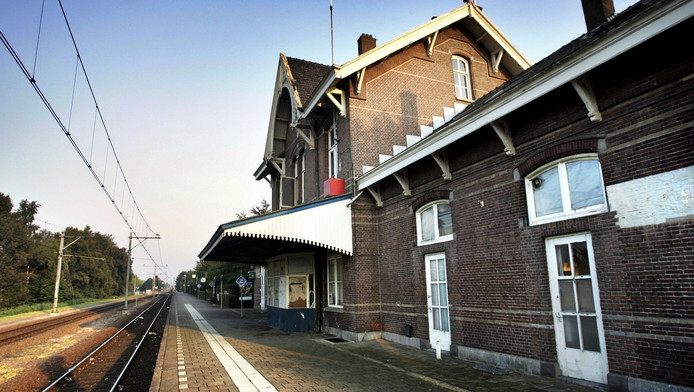Station Leerdam.