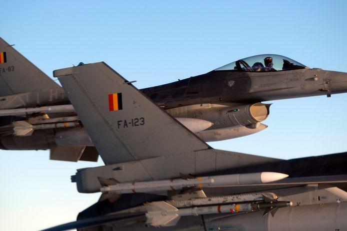 Archives 2018: F-16 belges déployés en Lituanie