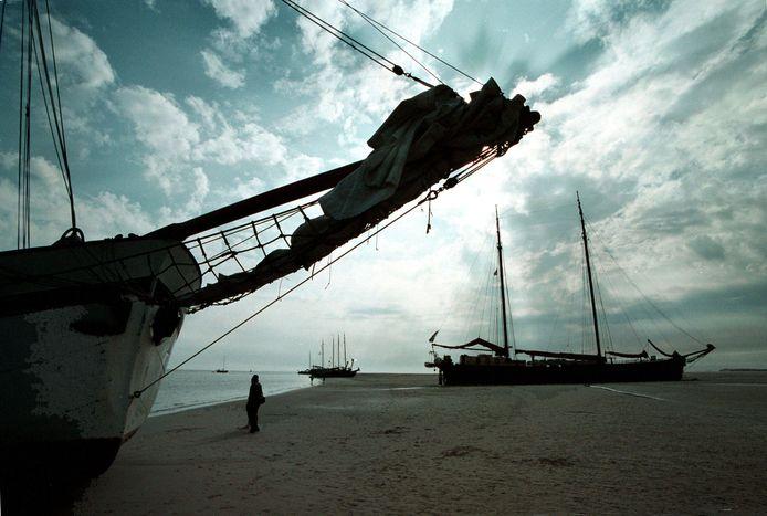 Het lichaam van Andries Penning spoelde in 1953 aan op het strand van Terschelling - (foto ter illustratie).