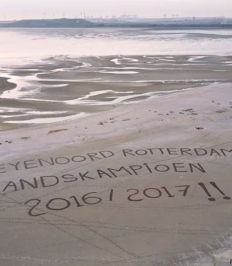 Rotterdammers maken dronefilmpje voor Feyenoord