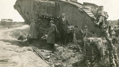 Voor het eerst opgraving van tanks