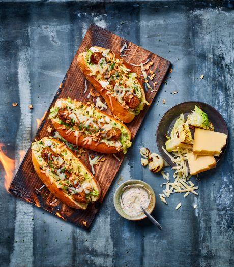 Dit Berliner Bratwurst Sandwich recept valt ongetwijfeld in de smaak!