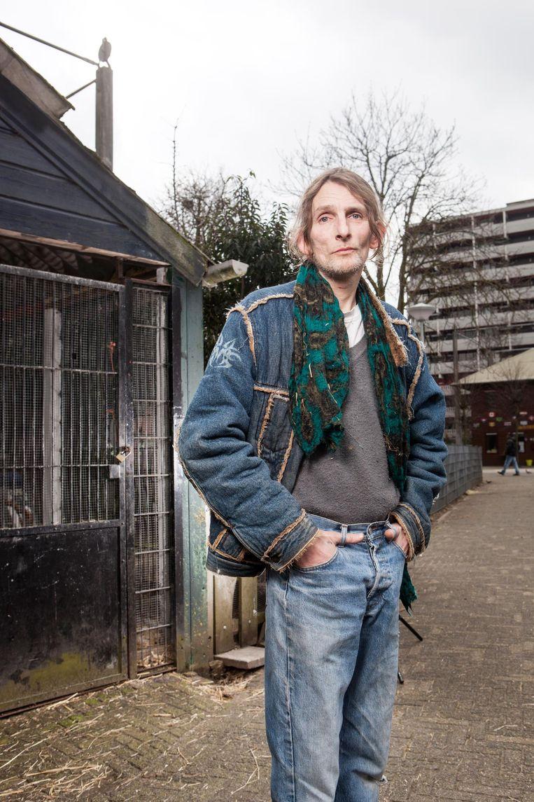 Daniël Leeuwenberg (52): 'Nu staat alles op zijn kop. Ik kan niet meer normaal functioneren.' Beeld Niels Blekemolen