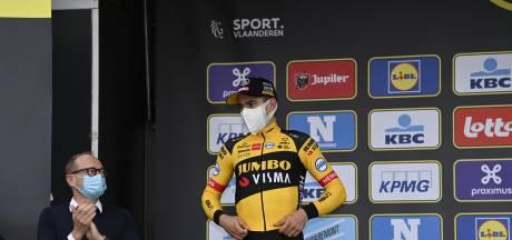 Van Aert berust in verlies: 'Mathieu was heel klein beetje sterker'
