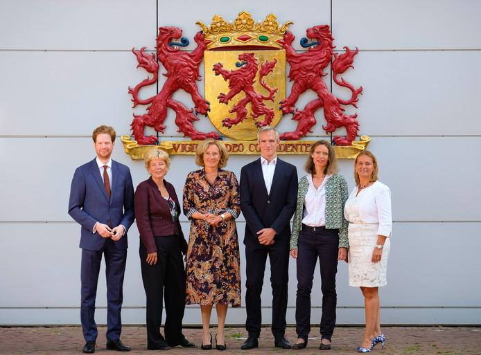 Nieuw provinciebestuur Zuid-Holland