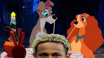 Twitter lacht met Neymars nieuwe kapsel