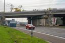 Start van de werken aan de spoorbrug in Zaventem over de Brusselse Ring.
