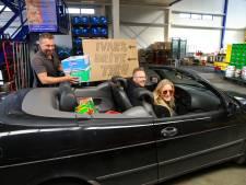 Woerdense ondernemer start 'drive thru' voor drank: Met de auto de winkel door, veilig toch?