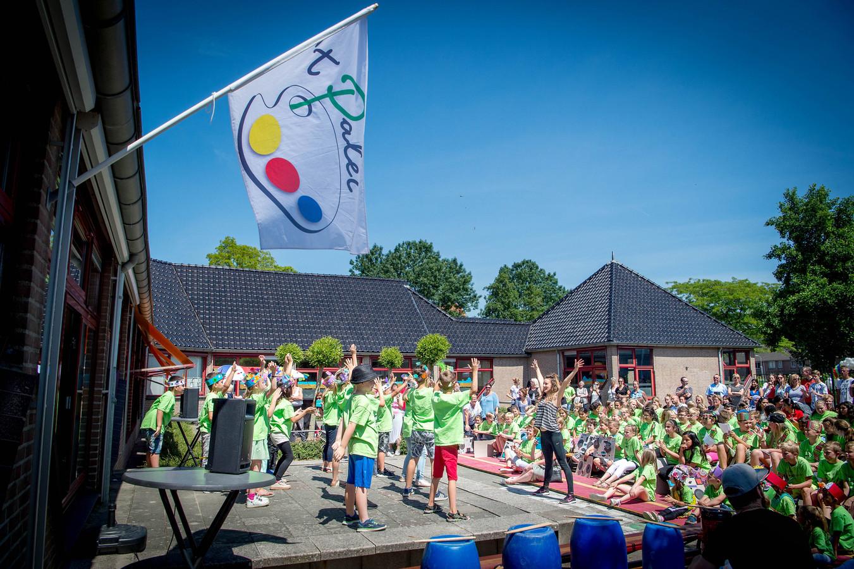 Eén van de Maas en Waalse basisscholen: het Palet in Wijchen.