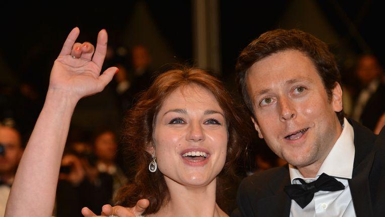 Emilie Dequenne en Joachim Lafosse.