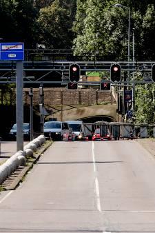 Maastunnel hele week in beide richtingen afgesloten