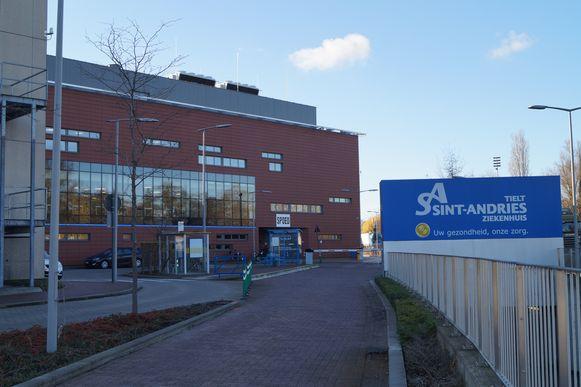 Het Sint-Andriesziekenhuis in Tielt