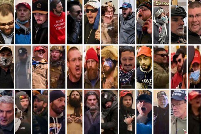 Le FBI a publié les photos des assaillants du Capitole