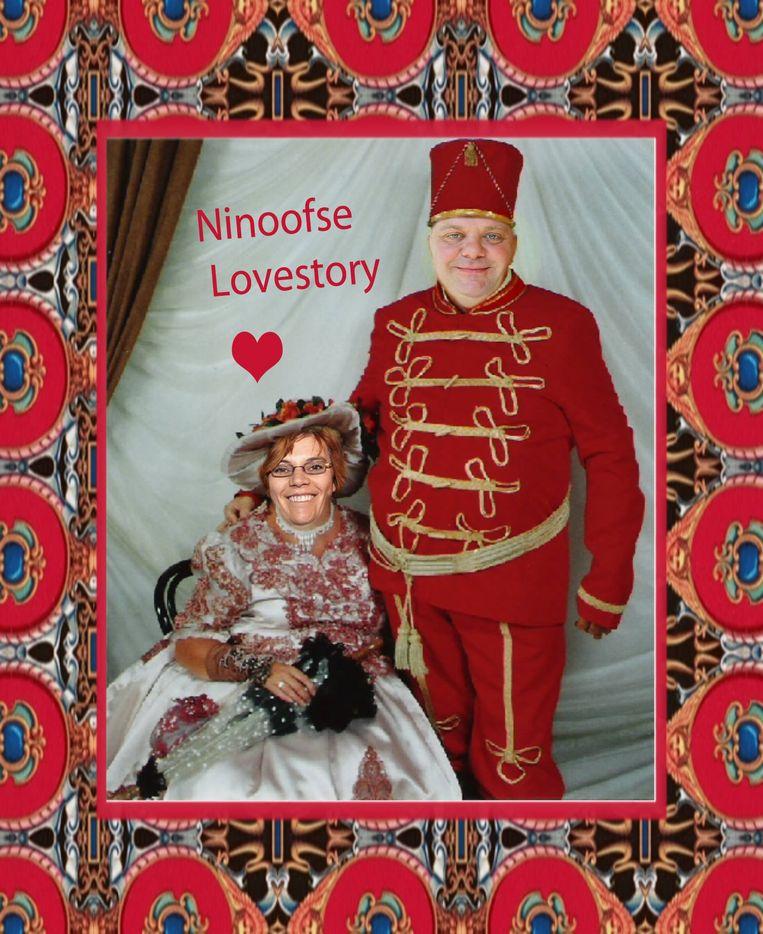 De afbeelding die op Facebook circuleert met Tania De Jonge en Guy D'haeseleer in de hoofdrol.
