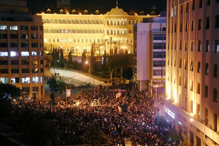 Tienduizenden betoger trokken vandaag de straat op.