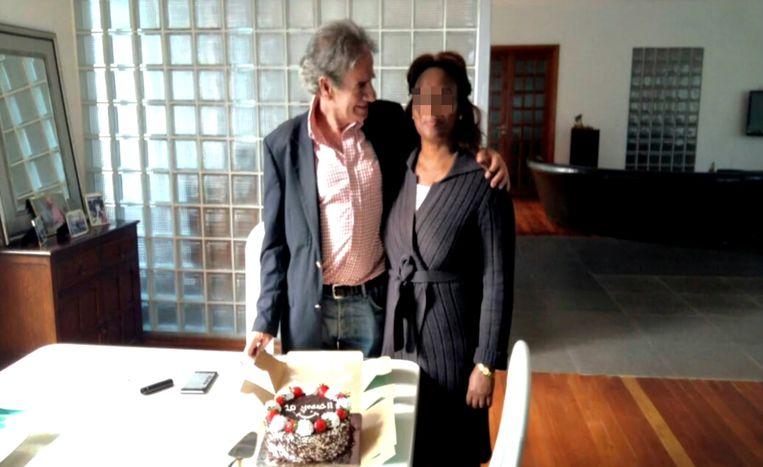 Tob Cohen en zijn echtgenote Sarah in betere tijden.