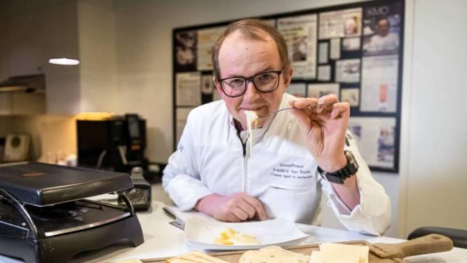 """Kaaskenner Frederic Van Tricht zoekt de lekkerste raclette uit de supermarkt: """"Aangenaam verrast over kwaliteit van de kaas"""""""