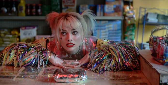 Margot Robbie in Birds of Prey.