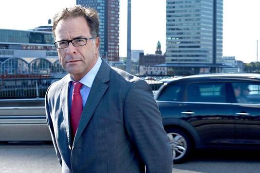 De Rotterdamse verkeerswethouder Pex Langenberg.