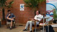 Filosoof Bleri Lleshi stelt boek over corona voor in Hal 5