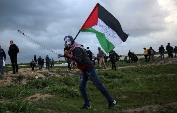 Hamas, de Palestijnse beweging in de Gazastrook, werd vannacht getroffen door Israëlische straaljagers.