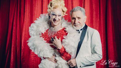 """Koen Crucke en Johny Voners spelen straks een homokoppel in 'La cage aux folles': """"Ik kijk ernaar uit om Johny te kussen"""""""