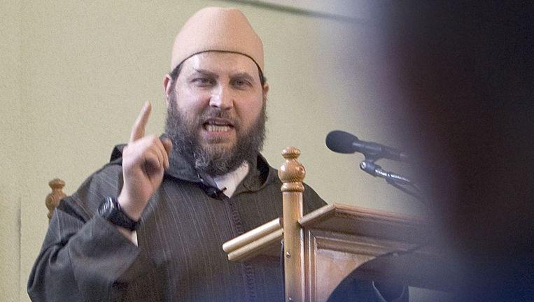 De salafistische imam Fawaz Jneid. Beeld anp