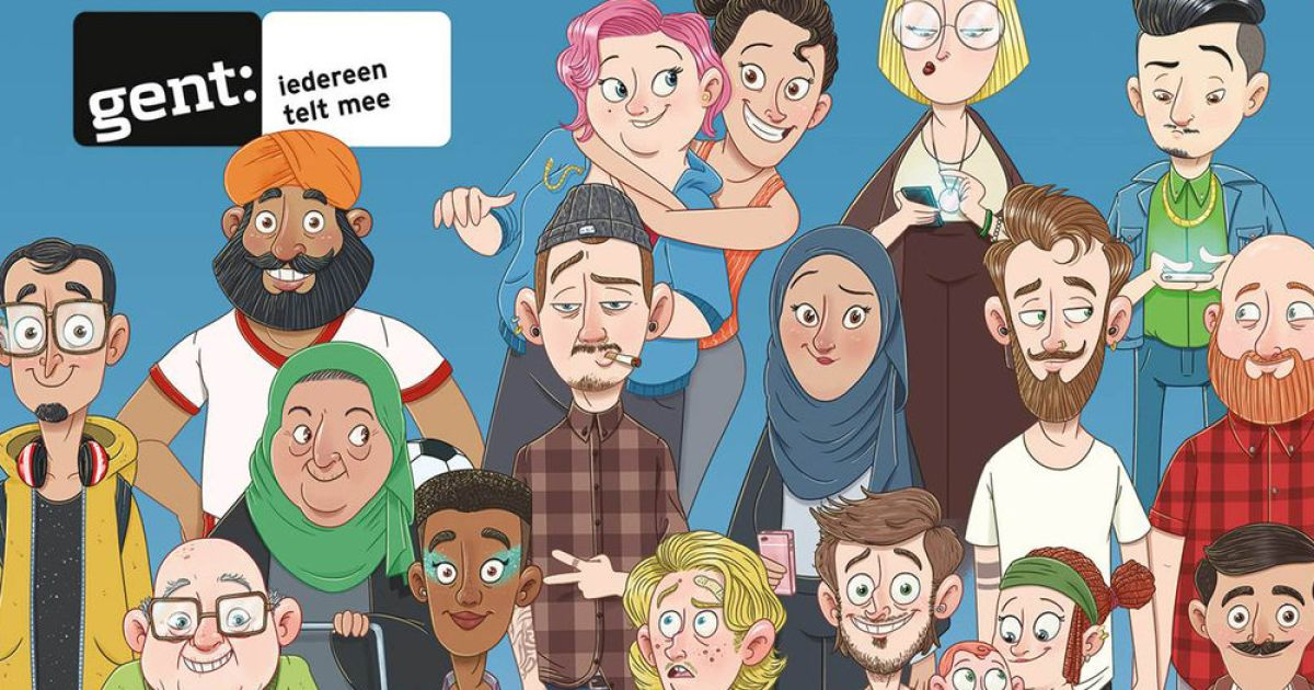 """Gent lanceert grootschalige diversiteitscampagne: """"Dit is geen steekvlam"""""""