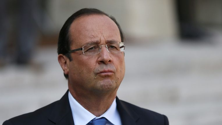De Franse president Hollande Beeld ANP