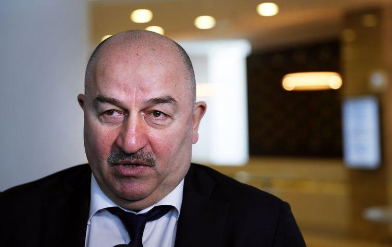 Stanislav Cherchesov, bondscoach van Rusland.