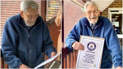 Oudste man ter wereld Bob Weighton (112) overleden