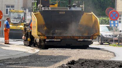 Wegen afgesloten voor leggen nieuwe asfaltlaag