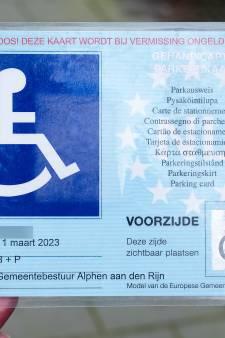 Alphen heeft landelijke primeur met parkeer-app speciaal voor gehandicapten